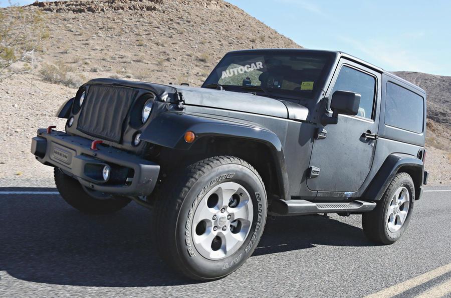 2018 Jeep Wrangler First Spy Shots Autocar