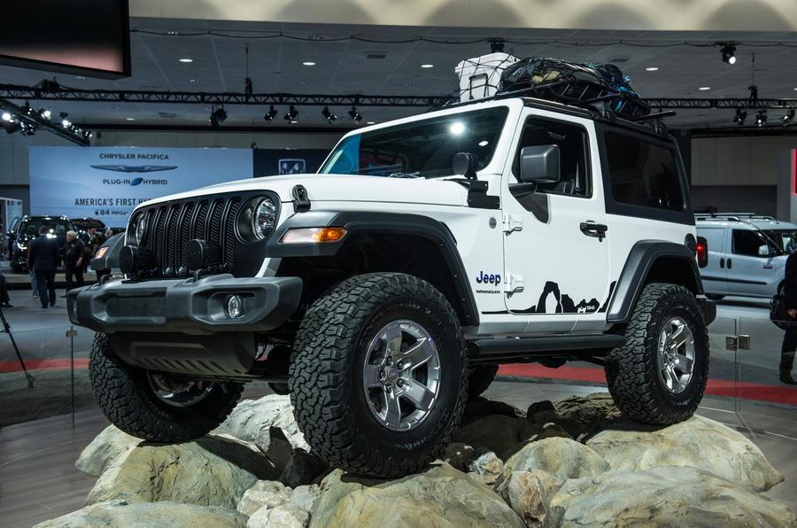 New Jeep Wrangler Priced From 44 495 Autocar