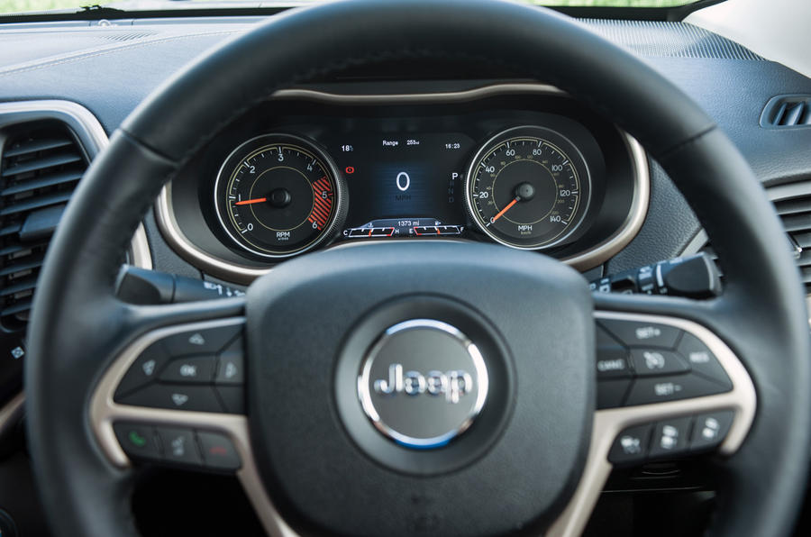 Jeep Cherokee steering wheel