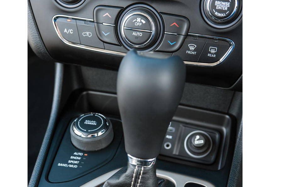 Jeep Cherokee automatic gearbox