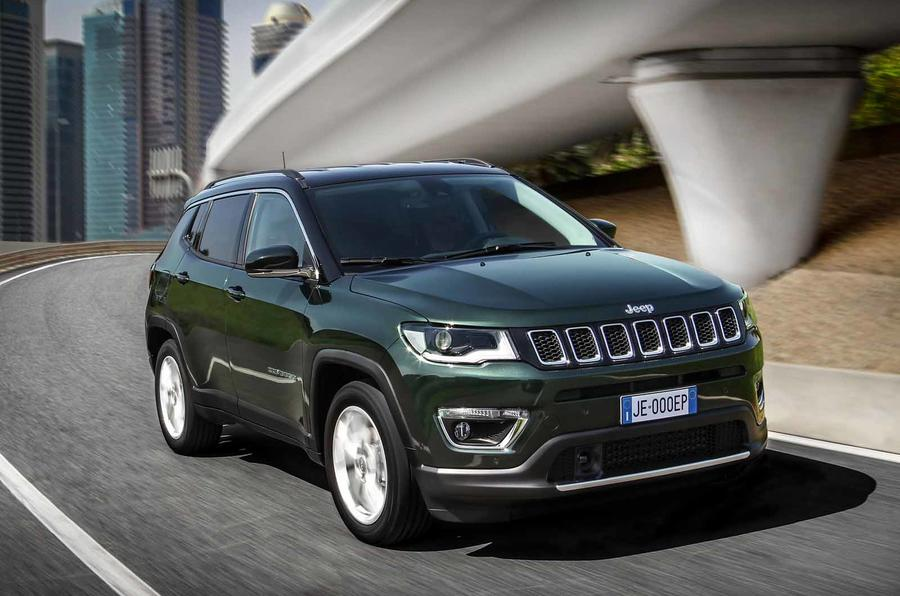 Jeep Compass update front side