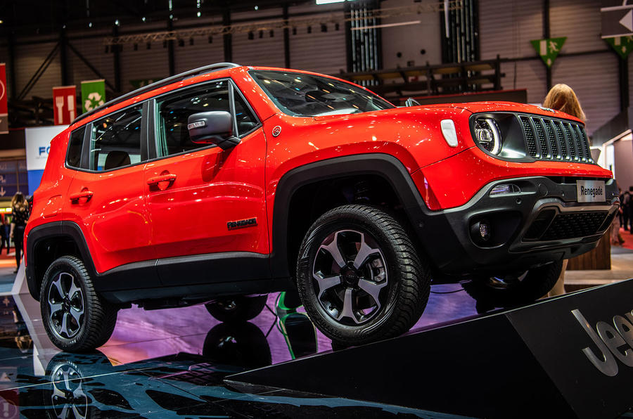 2020 Jeep Renegade Hybrid Debut Details >> Jeep Renegade And Compass Phevs Arriving In 2020 Autocar