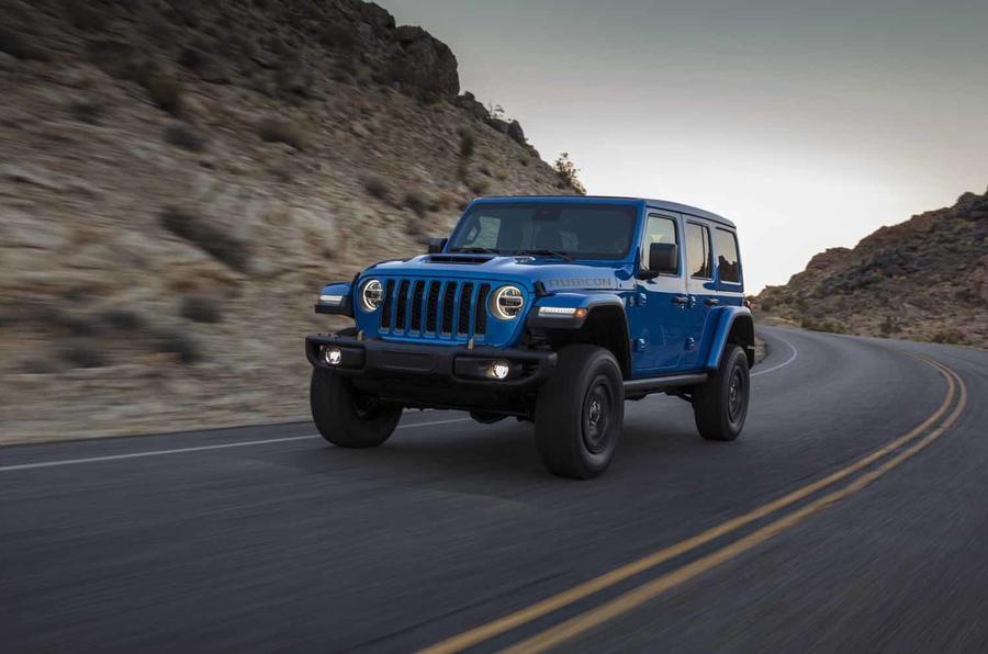 Fiat Chrysler Unveils Jeep Wrangler Rubicon 392 for 2021 TheStreet