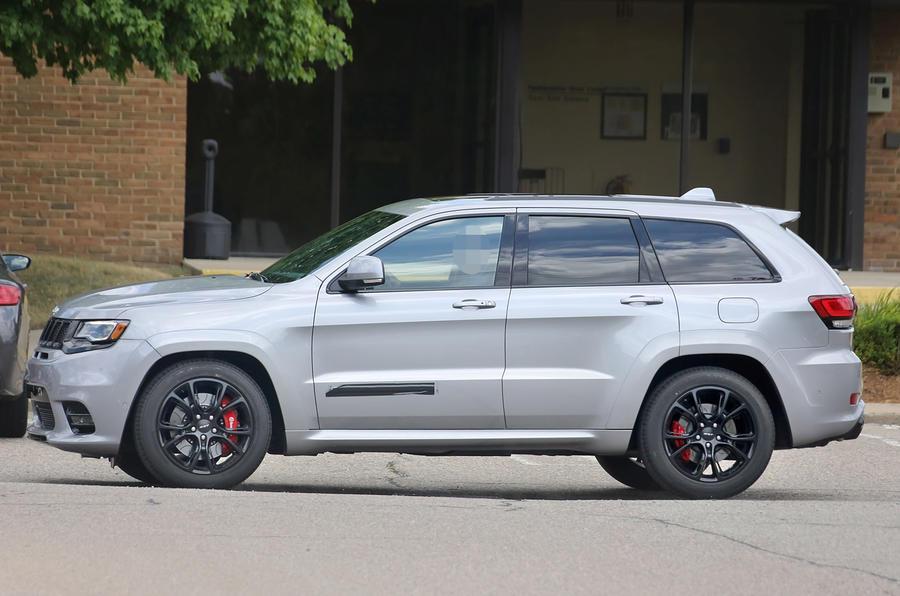 Jeep Grand Cherokee SRT facelift
