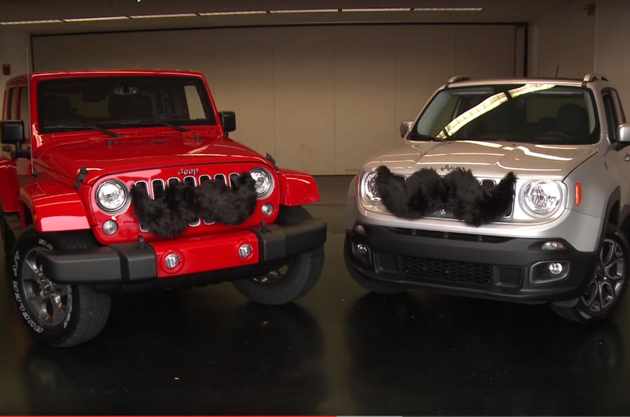 Jeep sells car moustaches for Movember