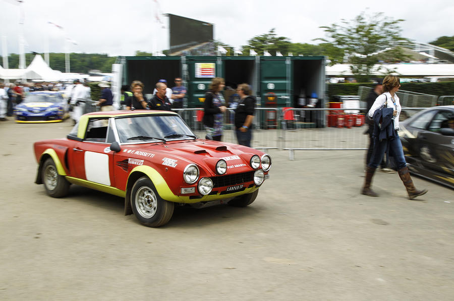 1975 Fiat 124 Abarth Rally