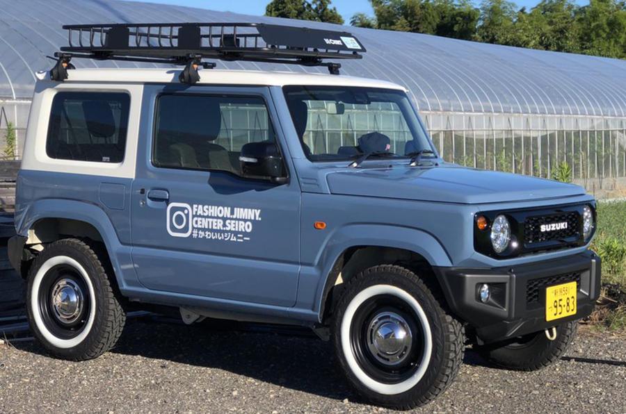 Specialist Suzuki Jimny Garage Creates Retro Inspired Custom Models