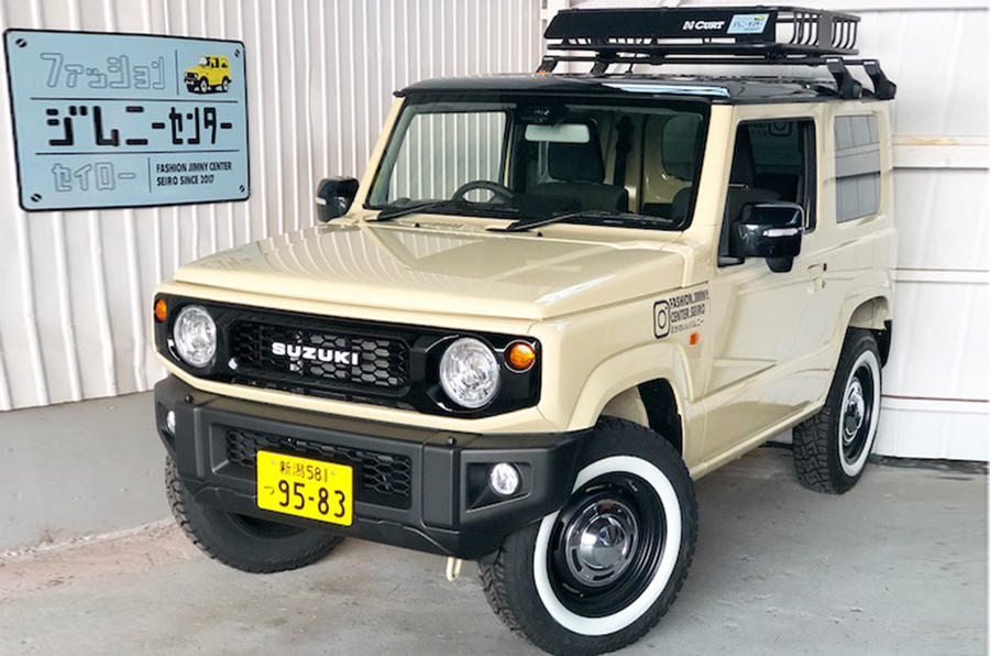 Specialist Suzuki Jimny Garage Creates Retro Inspired
