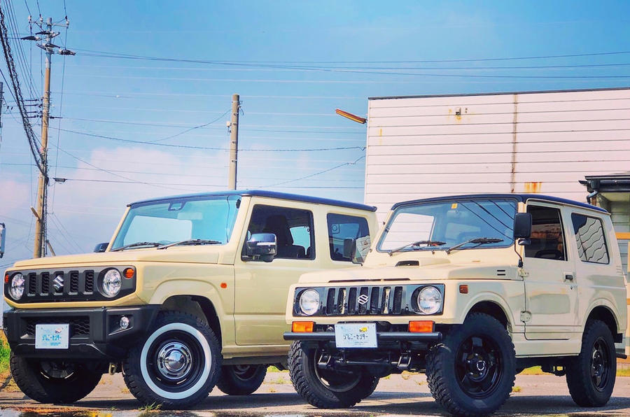 Specialist Suzuki Jimny garage creates retro-inspired custom models