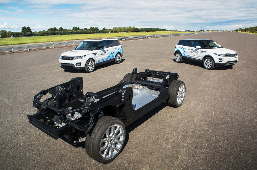 Lithium Ion Battery For Cars >> Range Rover Evoque concepts show off electric tech | Autocar
