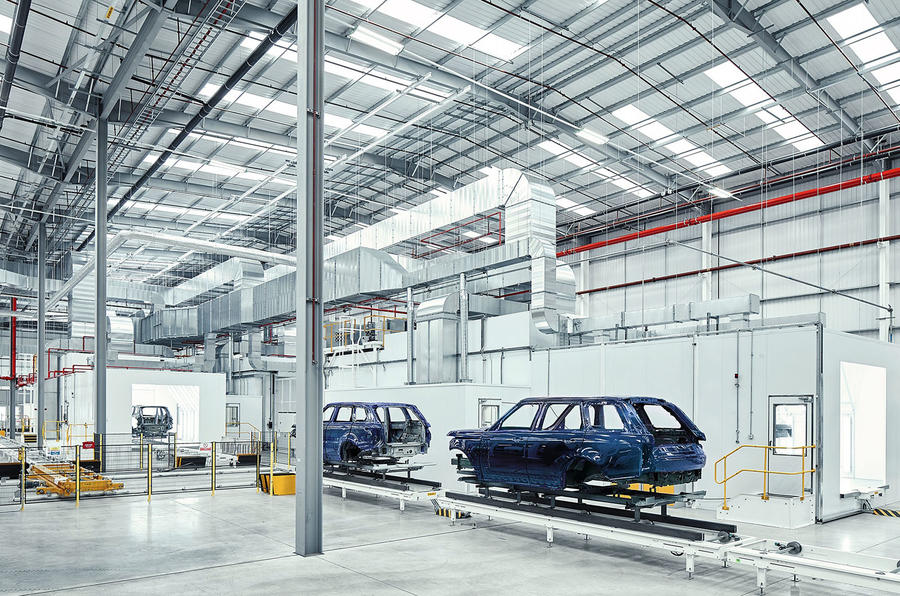 JLR SVO new £20m technical centre