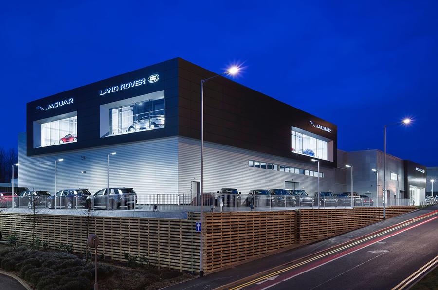 Jaguar Land Rover 2016 sales