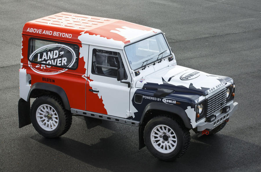 Jaguar Land Rover buys off-road specialist Bowler!
