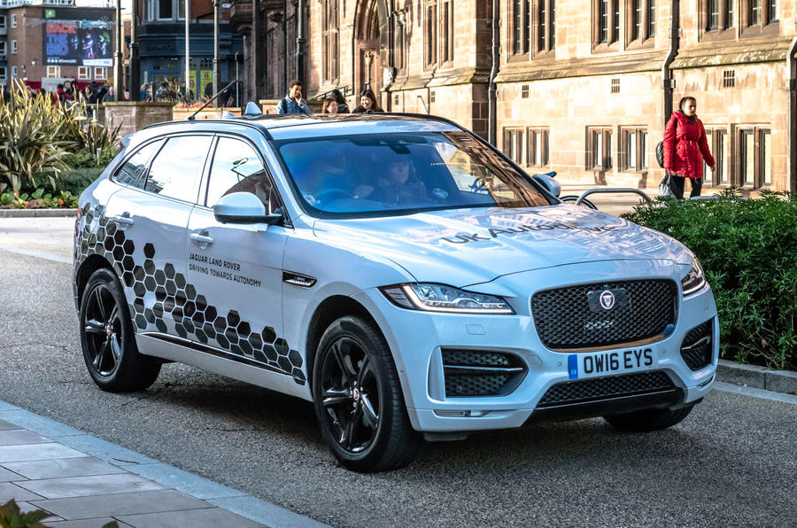 UK's largest autonomous car trial moves onto public roads