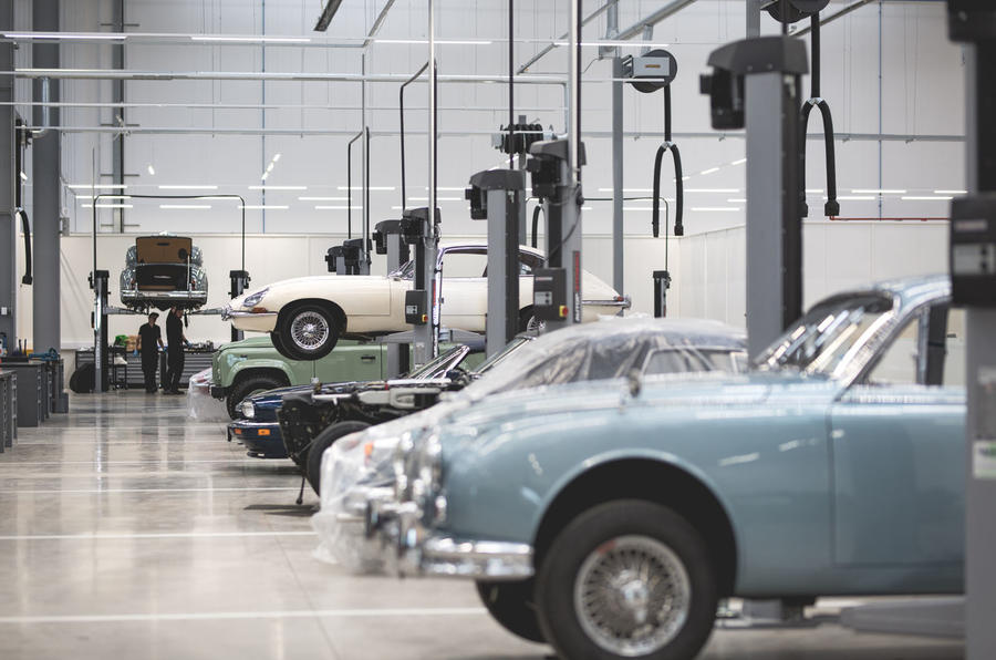 Jaguar Land Rover opens £7m Classic HQ