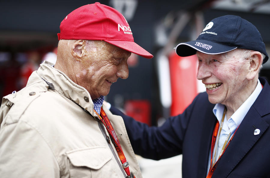 Niki Lauda and Surtees