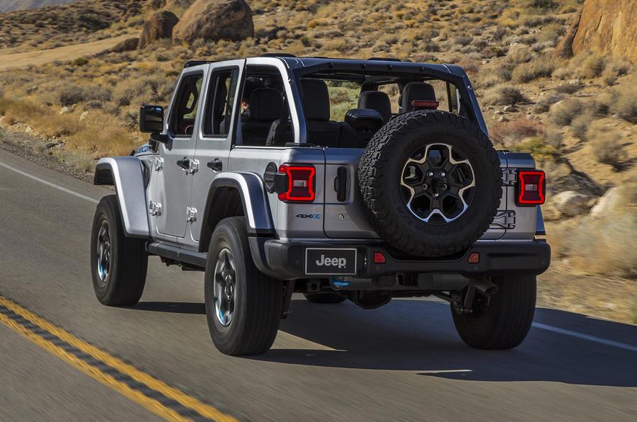 2020 Jeep Wrangler 4xe - rear