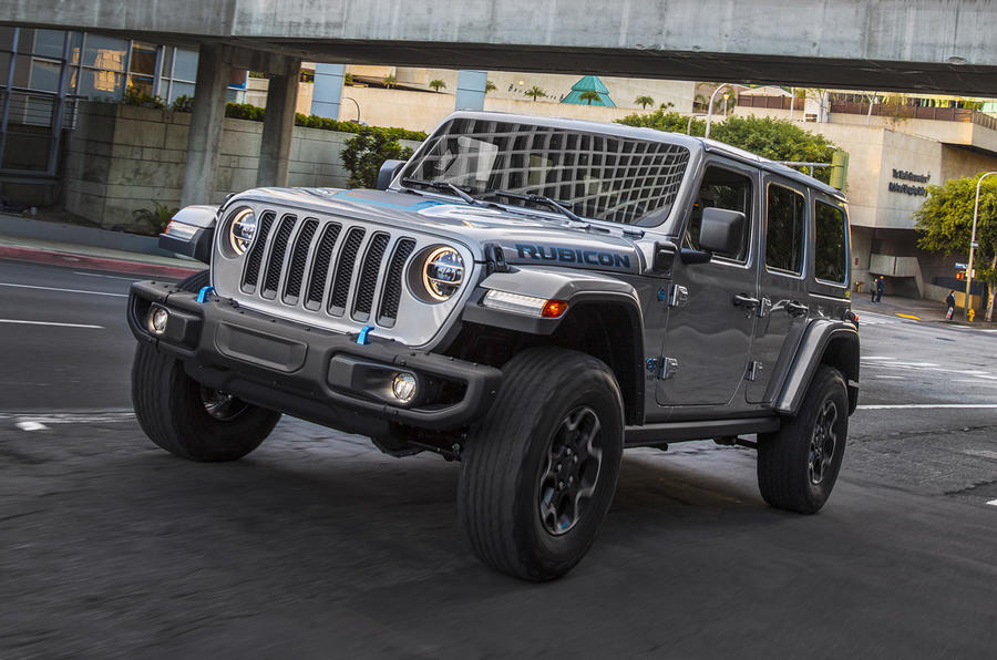 2020 Jeep Wrangler 4xe - front