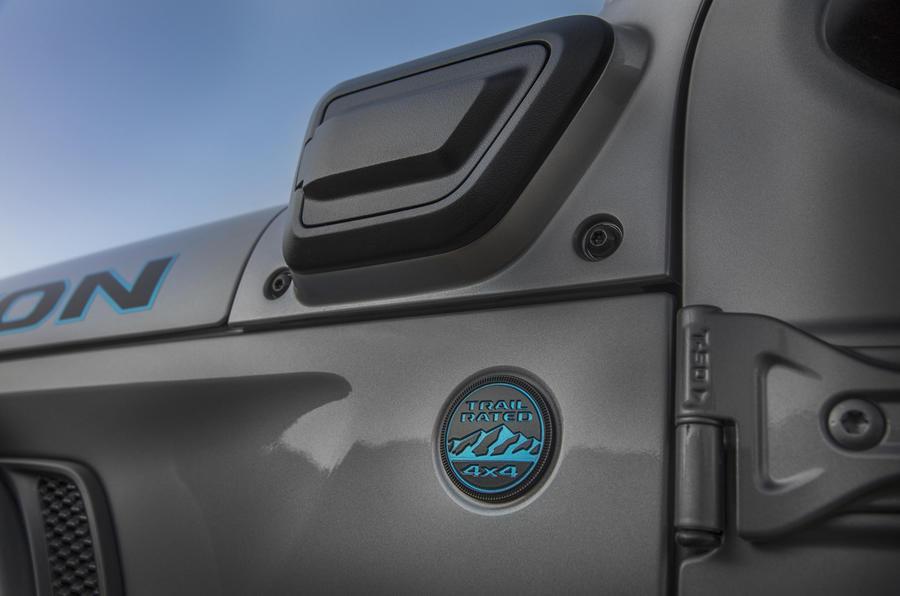 2020 Jeep Wrangler 4xe - badge
