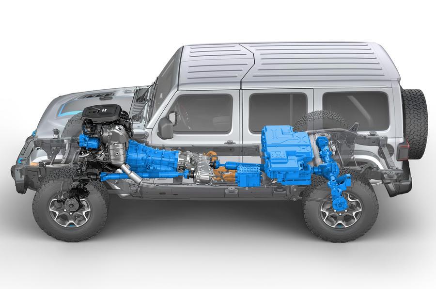2020 Jeep Wrangler 4xe - diagram