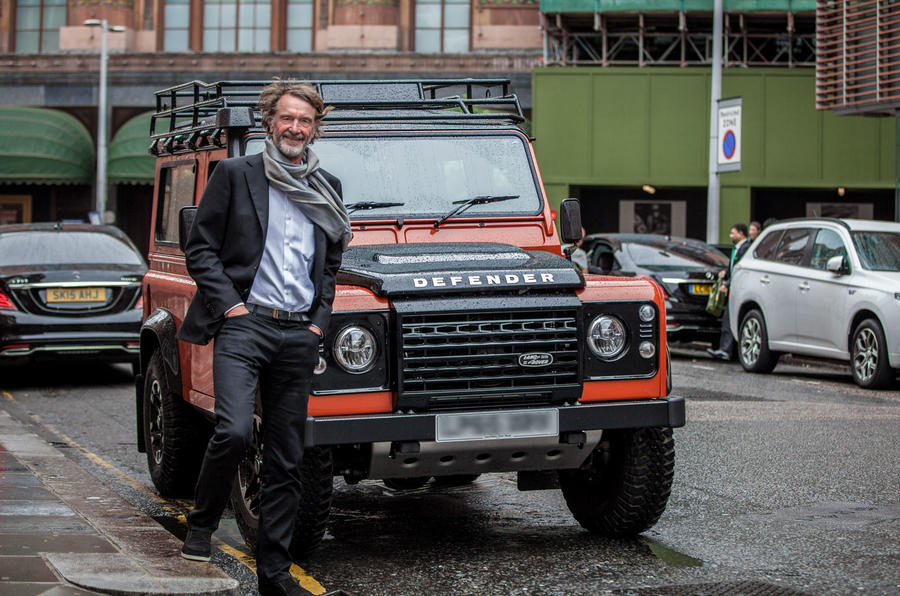 Land Rover Defender Jim Ratcliffe