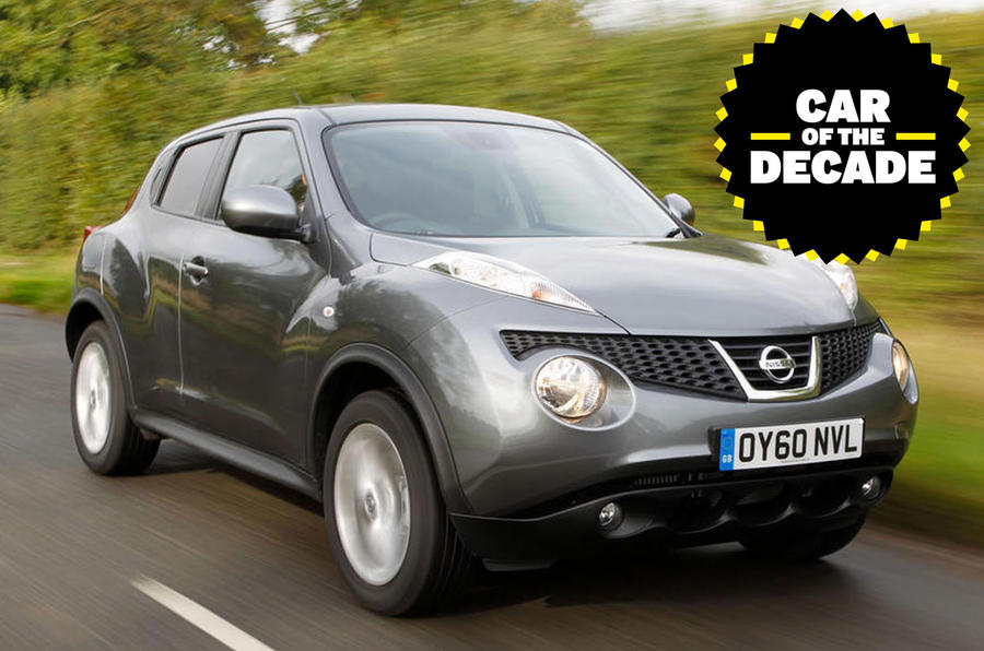 Nissan Juke - car of the decade - front