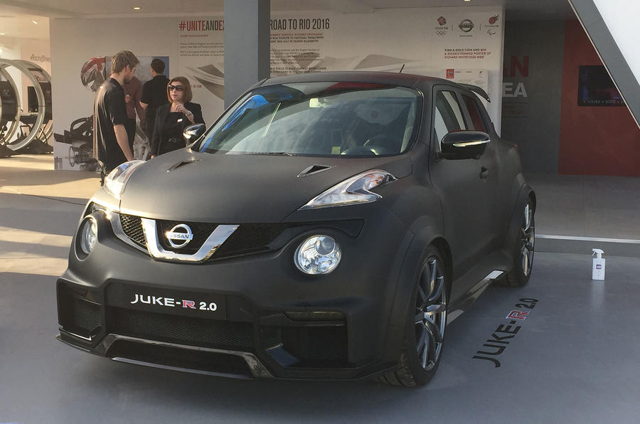 Nissan Juke R 2 0 Revealed At Goodwood Autocar