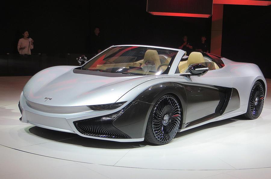 Qiantu K50 Roadster concept