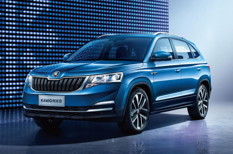 Skoda reveals China-market Kamiq SUV ahead of Beijing Motor Show