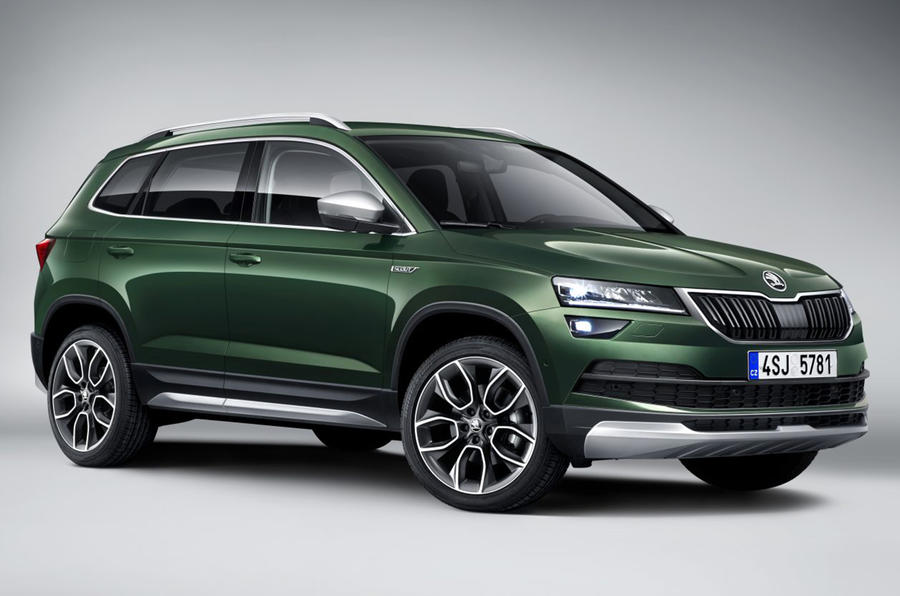 Skoda Karoq Scout confirmed for Paris motor show debut