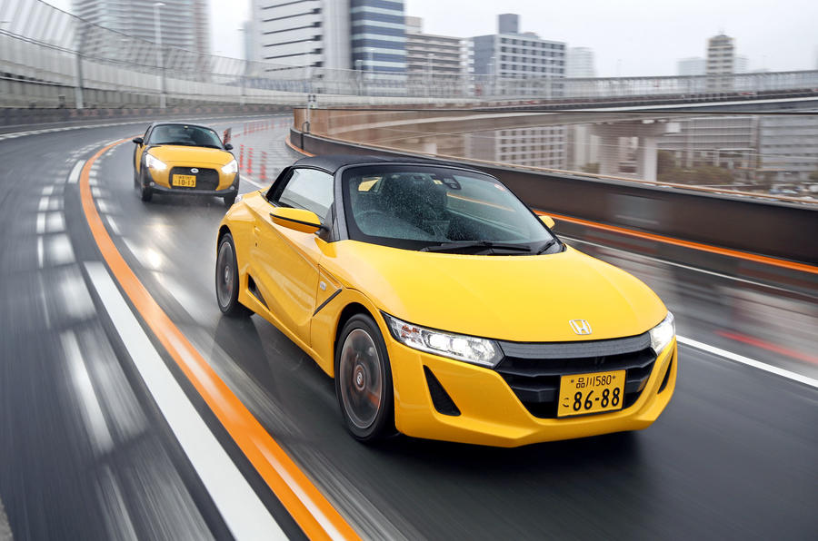 Japan S Micro Sports Cars Honda And Daihatsu Kei Cars Driven Autocar