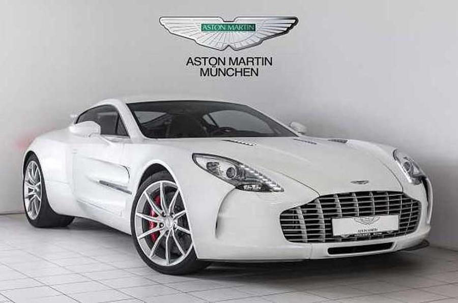 Nearly New Aston Martin One On Sale For Million Autocar - Aston martin 117