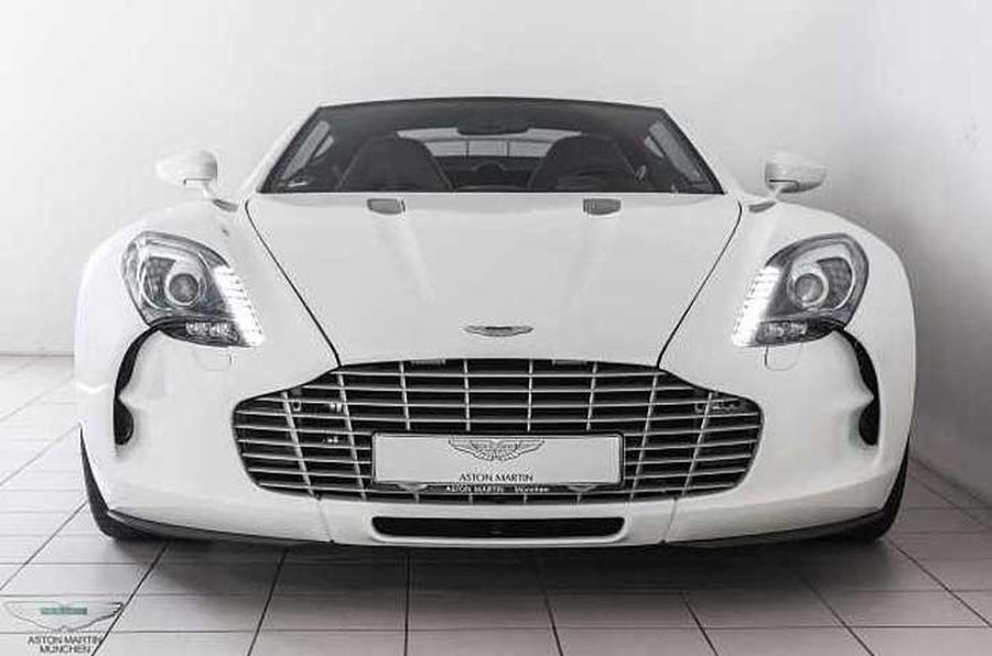Aston Martin One-77 For Sale >> Nearly New Aston Martin One 77 On Sale For 2 5 Million
