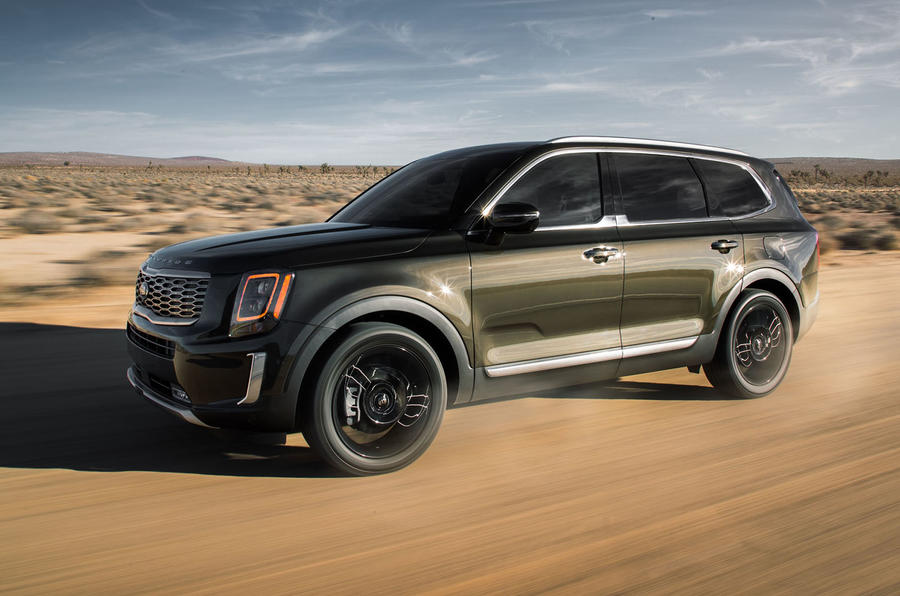 2016 Chevy Tahoe For Sale >> Kia Telluride SUV gets eight seats and all-terrain response | Autocar