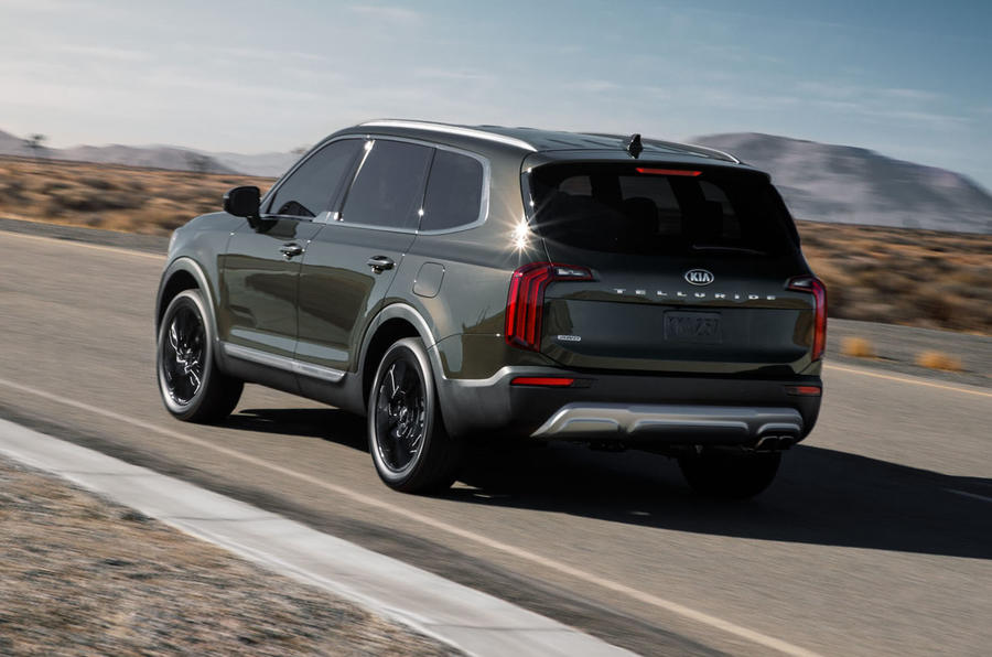 Kia Telluride SUV gets eight seats and all-terrain ...