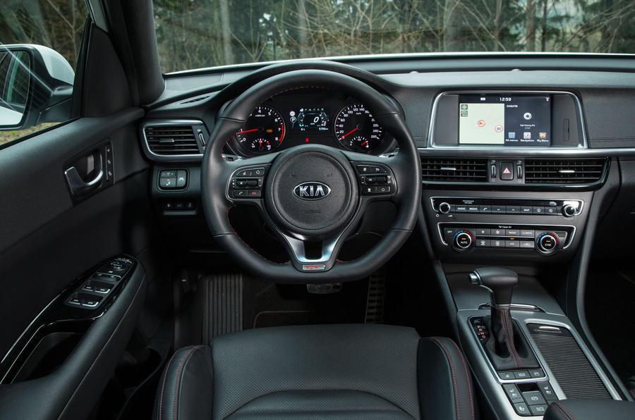 2017 kia optima gt review review autocar