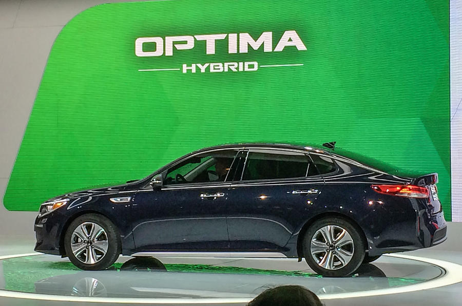 Kia Optima Hybrid ...