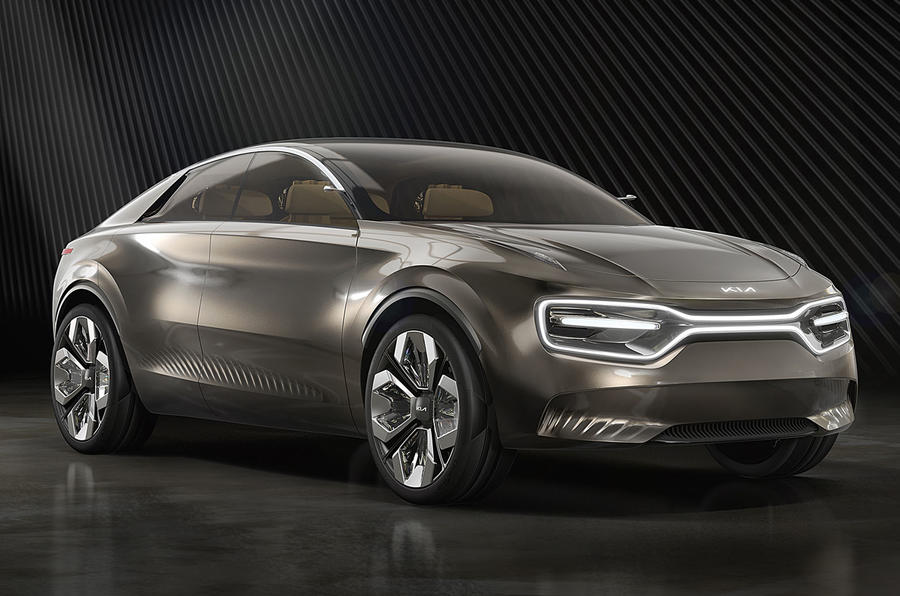 Kia Imagine Concept Geneva 2019 - nose