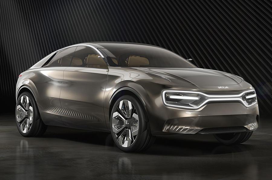 Kia Imagine Concept Geneva 2019 - nose