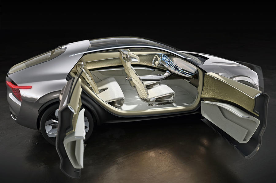 Kia Imagine Concept Geneva 2019 - coach doors