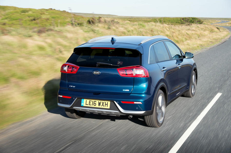 Kia Niro rear quarter