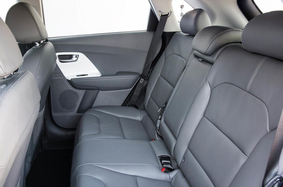 Kia Niro rear seats