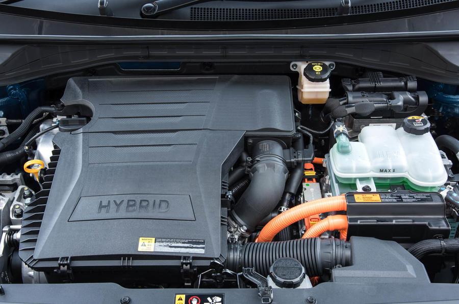 1.6-litre Kia Niro petrol engine