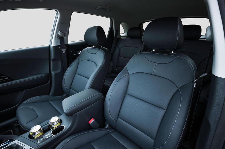 Kia Niro front seats
