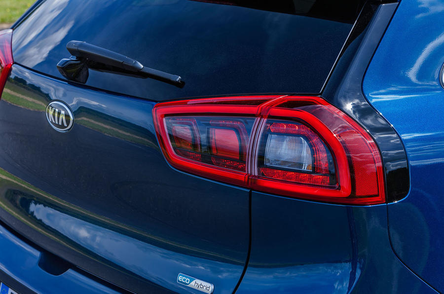 Kia Niro rear lights