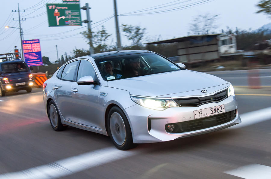 Kia Optima PHEV