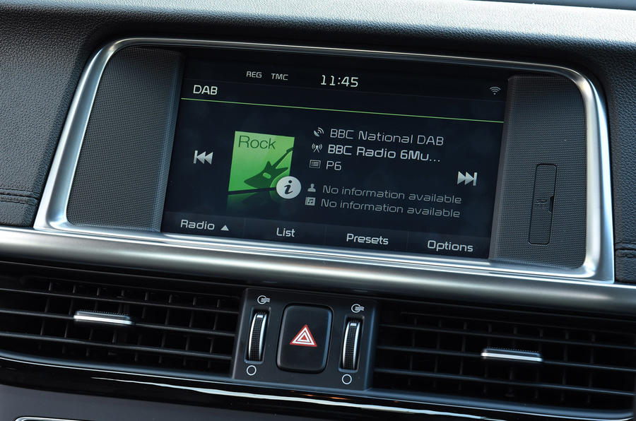 Kia Optima infotainment system