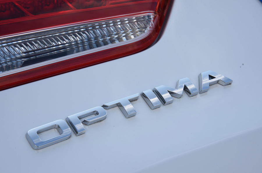 Kia Optima badging