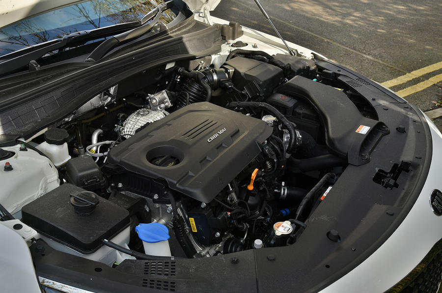 Kia Optima 1.7 CRDi engine