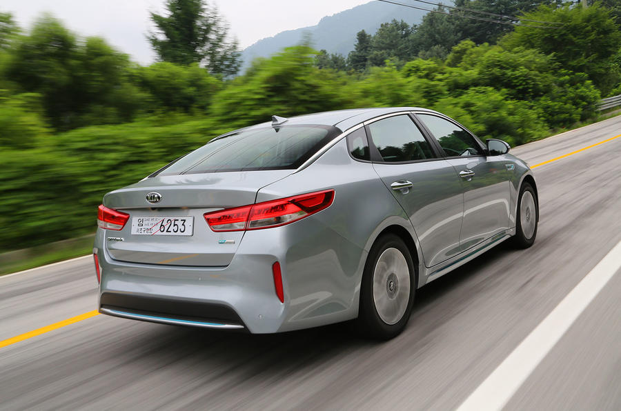 Kia Optima PHEV rear